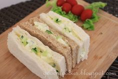 Eat Your Heart Out: Recipe: Egg mayonnaise with cucumber sandwiches