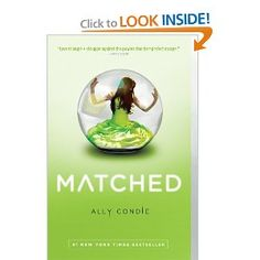 Teaser Tuesday - Matched by Ally Condie