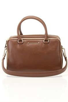 Zip Detail Bag In Brown by Givenchy....yes please! Xxx