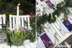 Easy Artichoke Candle Holders | Camp Makery