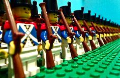 LEGO Bluecoat Army