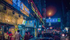 Captivating Lights of Hong Kong