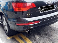 AUDI Q7 CHROME EXHAUST TAILPIPE STAINLESS STEEL 2 PIECES | eBay