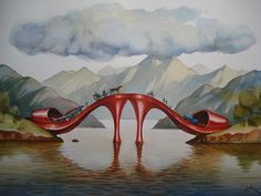 Vladimir Kush's Otherworldly Surreal Paintings | Art - BabaMail