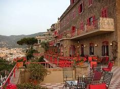 Hotel Minerva, Sorrento, Italy. My family stayed there in 1952, 1959, 1969 and 1984.