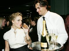 Pin for Later: Cheers to 2015! See the Stars Popping Bottles  Taryn Manning sipped Krug Champagne at the Hollywood Style Awards in October 2005.