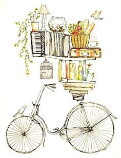 bikes, books, birds and bottles and everything else that is good