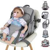 Portable High Chair Diaper Bag
