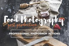 Food Photography Post Production Collection of Photoshop actions & Camera RAW presets was designed to give you food photography superpowers • Available here → https://creativemarket.com/beart-presets/417932-Food-Photography-Photoshop-Actions?u=pxcr