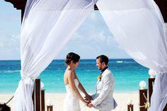 Beachfront Destination Wedding in Punta Cana.  Photo © Two Birds Photography 2012  http://www.TwoBirdsPhoto.com