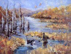 Image result for duck hunting painting Hunting Painting, Hunting Art, Duck Hunting, Duck Season, Waterfowl Hunting, Wildlife Art, Art Work, Paintings, Seasons