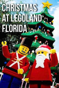 Christmas Bricktacular at Legoland Florida! Our son will be in heaven and so is the hubby :) Attractions In Orlando, Orlando Vacation, Florida Vacation, Florida Travel, Florida In December, Florida Holiday, Holiday Trip, Legoland Park, Legoland Florida