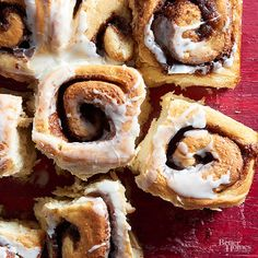 Our softest cinnamon rolls yet, these sweets get their texture from a surprise ingredient -- mashed potato! Whip up a classic batch or try one of our variations: Cranberry-Cherry or Salted Lemon. /