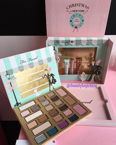 Toofaced is coming out with The chocolate Shop palette $58 holiday 2016. Smells like chocolate! - makeup products - http://amzn.to/2hcyKic