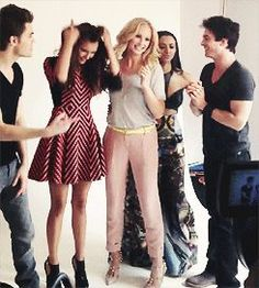 The Vampire DIaries Cast, San Diego Comic Con 2013 - the-vampire-diaries Photo