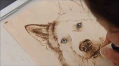 pyrography project 61 - YouTube