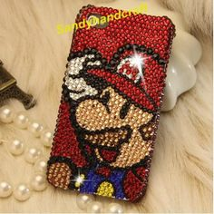 Cute iPhone 5 Case swarovski Crystal i phone 5 Cover i phone 4 Case, iPhone4s Sparkly Phone Case, iPhone Cover Bling iPhone skins Galaxy s3 on Etsy, $22.59