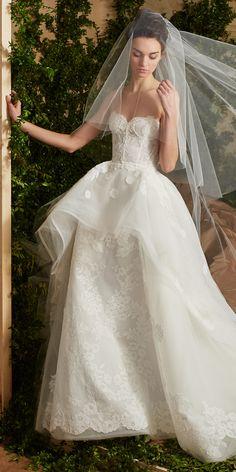 The Prettiest Spring 2017 Wedding Dresses from Bridal Fashion Week - Carolina Herrera  - from InStyle.com