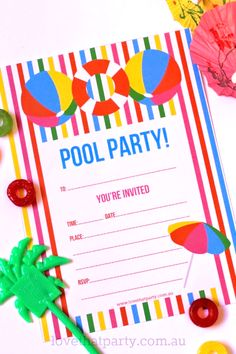 pool party invite2