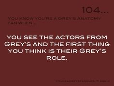 You Know You're a Grey's Anatomy Fan When: Photo Anatomy Humor, Greys Anatomy Memes, Grey Anatomy Quotes, Grey's Anatomy, Meaningful Quotes About Life, Marley And Me, Lexie Grey, Dark And Twisty, Dance It Out
