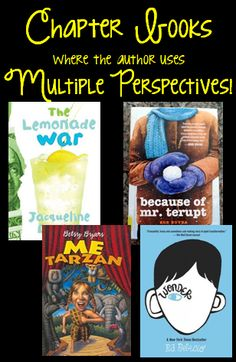 Chapter books that can be used to reinforce perspective!