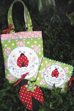 Natalie Ross in Stitches bag pattern
