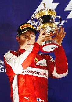 #Kimi #KimiRaikkonen #Raikkonen #iceman #scuderiaferrari #bahgp #redseason #BahrainGp #F1 (sunday; 04 19,2015) pic027