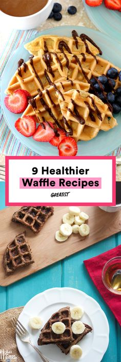 Why should pancakes get all the attention? #greatist http://greatist.com/eat/healthy-waffle-recipes