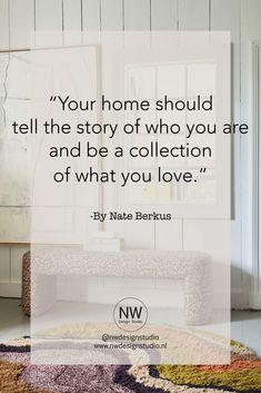 Als interieurontwerpster kom ik bij veel mensen thuis, een interieur is een afbeelding van wie je bent en waar je van houd. Door goed te luistern naar de klant probeer ik te helpen om een functioneel interieur te creëren waar je graag in thuis komt.