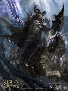 Rogue Knight by Blackfoxst.deviantart.com on @DeviantArt