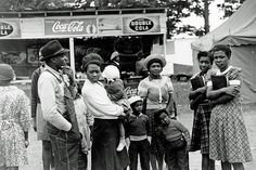 A family attending the Greene County fair in Greensboro, Georgia, 1941.  Vintage African American photography courtesy of Black History Album, The Way We Were.  Follow Us On Twitter @blackhistoryalb