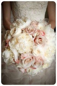 Beautiful bridal bouquet.  Hand tied romantic/vintage bouquet.  www.floralvdesigns.com