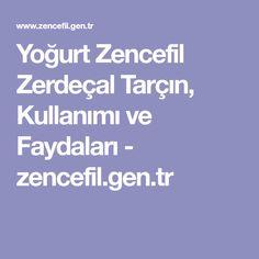 Yoğurt Zencefil Zerdeçal Tarçın, Kullanımı ve Faydaları - zencefil.gen.tr