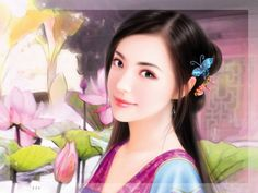 One of the Great Four Chinese Beauties of Ancient China
