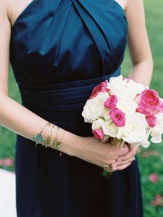 Wedding Bouquets :     Picture    Description  White + magenta rose bouquet: www.stylemepretty… | Photography: Wendy Laurel – www.wendylaurel.com/    - #Bouquets https://weddinglande.com/accessories/bouquets/wedding-bouquets-white-magenta-rose-bouquet-www-stylemepretty-photography-wendy-laurel/