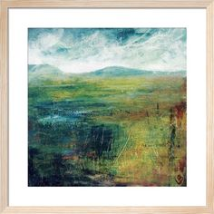 Hill and Water by Lesley Birch - art print from King & McGaw