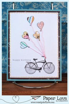 One of a zillion cards on love by Paper Love!