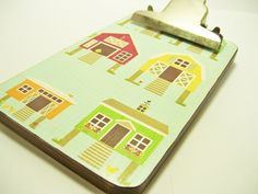 Chicken Coop Barn Clipboard Decoupaged by tatteredpearls on Etsy