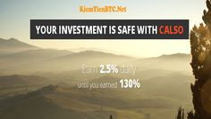 Review CALSOINV – Lãi từ 2.5% hằng ngày cho 52 ngày – Đầu tư tối thiểu 10$ – Thanh toán Manual - Đầu tư tài chính - kiếm tiền online Accounting, Investing