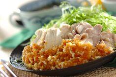 ゆで鶏・ネギソースのレシピ・作り方 - 簡単プロの料理レシピ | E・レシピ