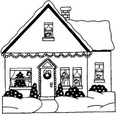 xmas coloring pages christmas homes house colouring pages coloring pages for kids coloring