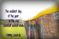 That is very true. My favorite time of year is when my brother starts his summer ball season. I enjoy going to games, tanning my legs, and watching my favorite sport being played by my brother and his friends:)