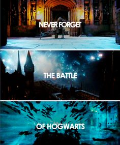 harry potter - the battle of hogwarts - 2 May, 1998