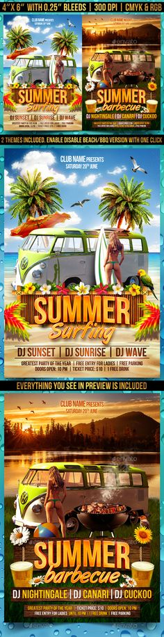 Summer Time Flyer Template PSD. Download here: http://graphicriver.net/item/summer-time-flyer-template/15195712?ref=ksioks