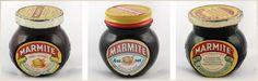 Old jars Marmite, Sauce Bottle, Soy Sauce, Jars, Food, Pots, Soy Candle, Vases, Meals