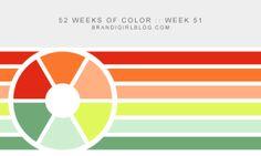 52 Weeks of Color :: Week 51 | brandigirlblog.com