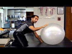 Shoulder Flexibility Exercise Using Ball  http://www.facebook.com/tridoshawellness  http://www.tridoshawellness.com
