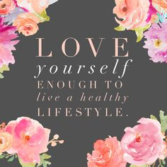 Love yourself enough to live a healthy lifestyle. Quotes To Live By, Me Quotes, Selfish Quotes, Motivational Wallpaper, Motivational Quotes, Happy Girl Quotes, Flags With Names, Spiritual Messages, Pretty Quotes