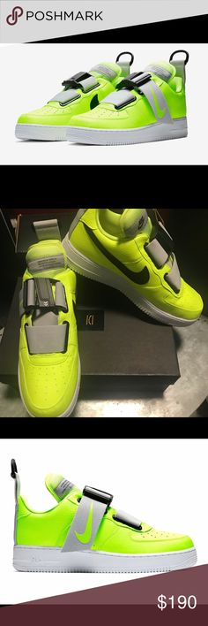 eb2f4ec706aa Nike Air Force 1 Utility Volt Odell Beckham s Brand new in box Nike Shoes  Sneakers