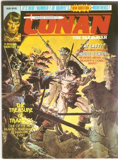 Savage Sword of Conan the Barbarian. No. 43. U.K. Marvel Comic. May 1981.